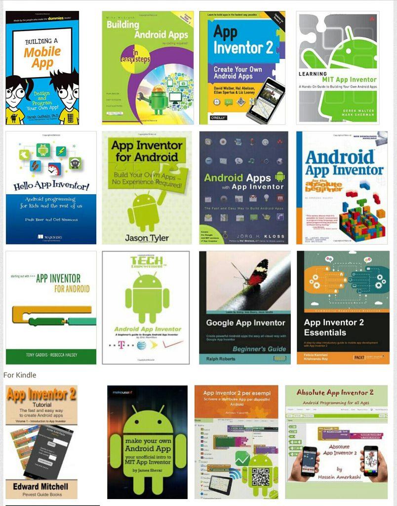 کتاب های آموزش App Inventor