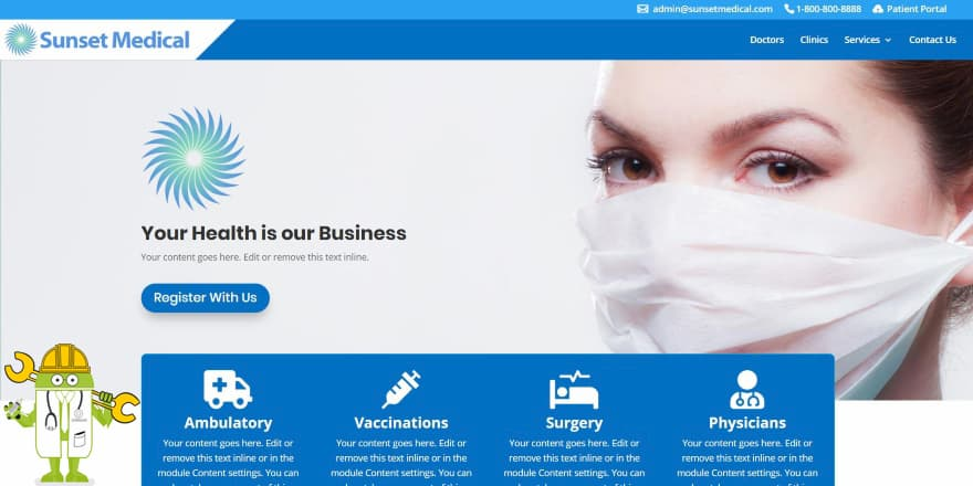 امروز در وبسایت دکتر مهندس قصد داریم ببینیم که چرا پزشک ها به طراحی سایت نیاز دارند؟ بررسی تمامی مزایای داشتن وبسایت شخصی دکترها و پزشک ها